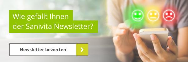 Umfrage zum Sanivita Newsletter